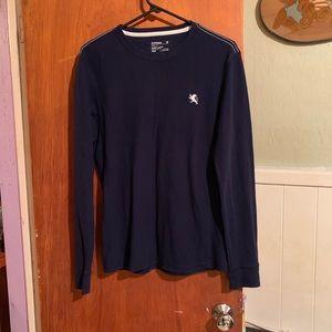Express navy shirt sz M